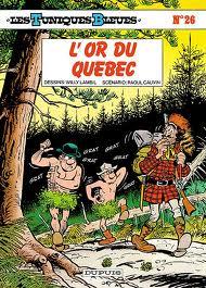 Les Tuniques bleues - L'or du Québec
