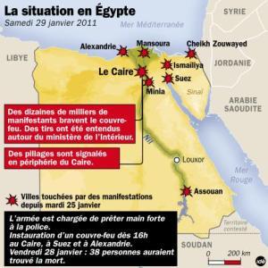 Situation en Égypte