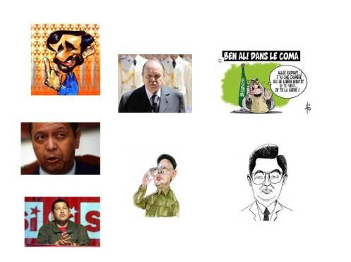 La ferme célébrité version dictateurs