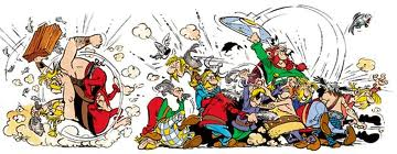 Le combat des chefs - Astérix et Obélix